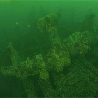 Xác tàu nguyên vẹn trồi lên từ đáy biển sau 200 năm yên nghỉ