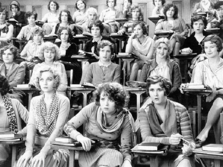 Lớp học đầu tiên về giáo dục giới tính trên thế giới vào năm 1929.
