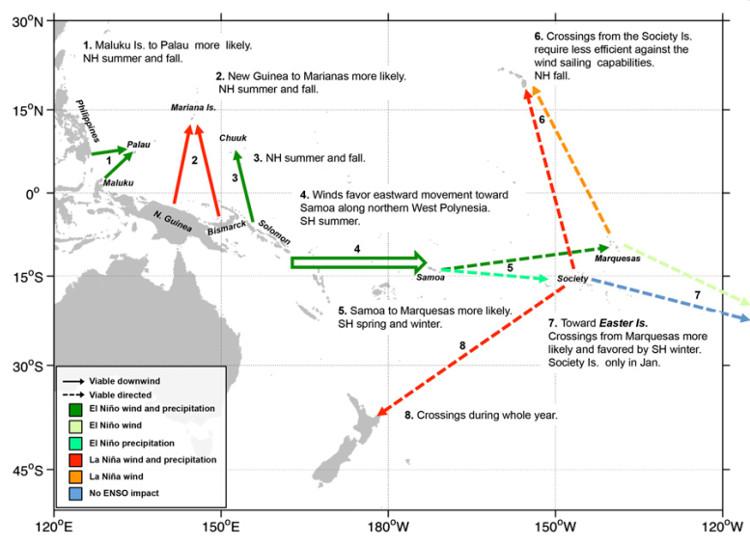 Bản đồ kết hợp dữ liệu thời tiết và các mô phỏng máy tính.