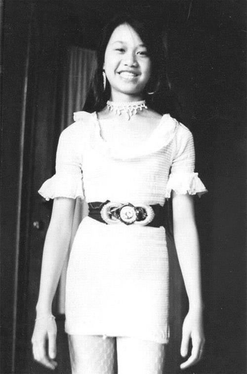 Quỳnh Nga - con gái nhà thơ Nguyễn Huy Hoàng.