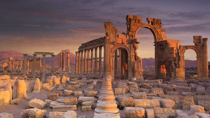 Thành cổ Palmyra, Syria