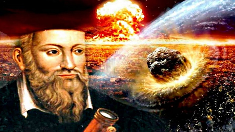 Nhà tiên tri Nostradamus người Pháp đã đưa ra hơn 1000 lời tiên đoán về thế giới tương lai cách hàng trăm năm vào thời gian ông sinh sống.