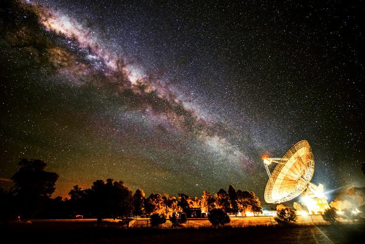 Kính viễn vọng Parkes của Australia sẽ tham gia tìm kiếm nền văn minh ngoài Trái Đất.