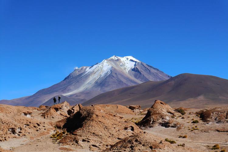 Bể chứa nước 1.000 độ C nằm sâu 15km dưới núi lửa Uturuncu, Bolivia.