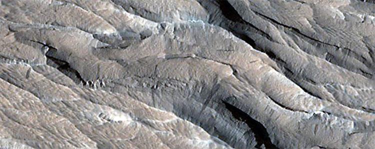 Yardangs, Rặng núi bị bào mòn bởi gió