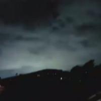 Bầu trời New Zealand xuất hiện ánh sáng xanh kỳ ảo trong trận động đất