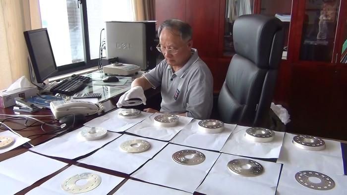 Giáo sư Gao Bingjun.