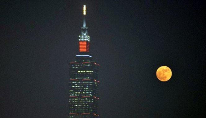 Siêu trăng tại Đài Loan