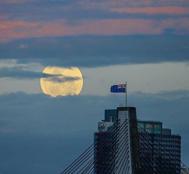 Một bức ảnh khác được chụp trên bầu trời nước Úc.