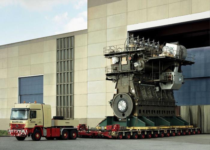 Động cơ này có công suất hơn 100.000 mã lực.