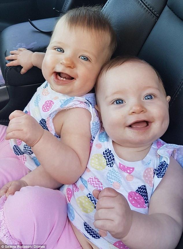 Chị Kate sinh con gái đầu - bé Charlotte ngày 20/ 12/2015. 10 ngày sau mới sinh bé em Olivia.
