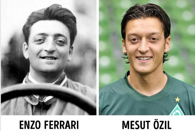 Trường hợp giống nhau đến kỳ lạ của Enzo Ferrari và Mesut Özil