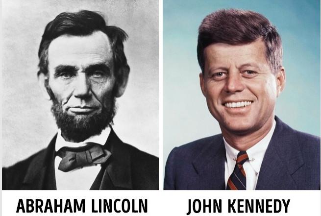 Sự trùng hợp trong tiểu sử của Lincoln và Kennedy