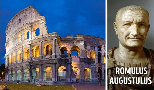Một cái tên đặc biệt cho Đế chế La Mã