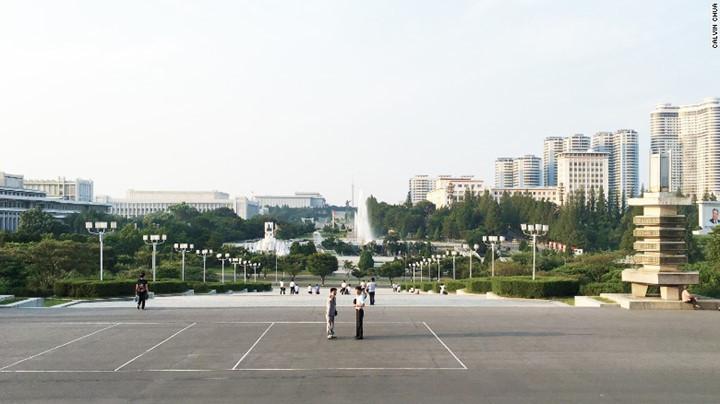 Quảng trường chính Bình Nhưỡng