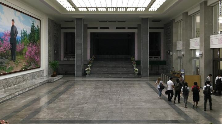 Một công trình của Bình Nhưỡng được xây dựng từ năm 1982 đến giờ vẫn có nét hiện đại.