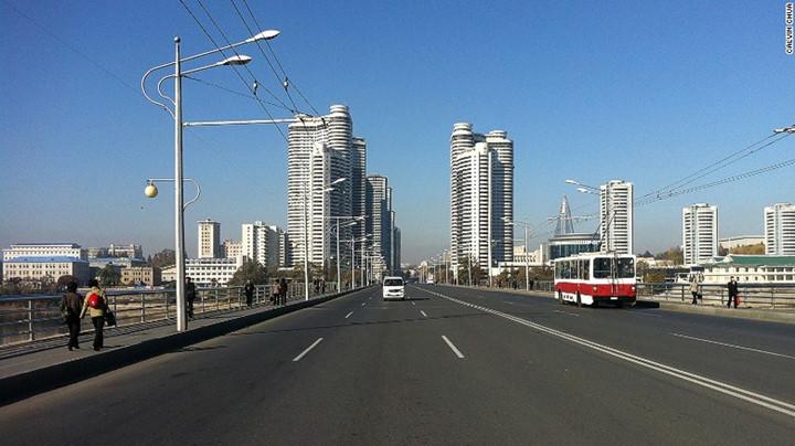 """Khu """"mini Dubai"""" dành cho người nước ngoài đến Bình Nhưỡng được hoàn thành năm 2012."""