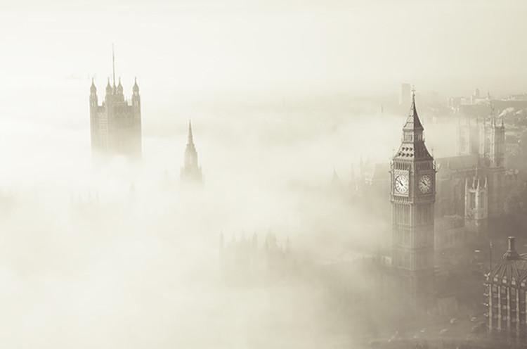 """Sương mù """"sát thủ"""" bao trùm London vào năm 1952."""