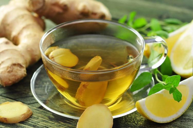 Thực tế cho thấy những người uống trà gừng nóng buổi sáng thấy không bị đói.