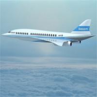 Máy bay chở khách siêu âm vượt Đại Tây Dương trong 3,5 tiếng
