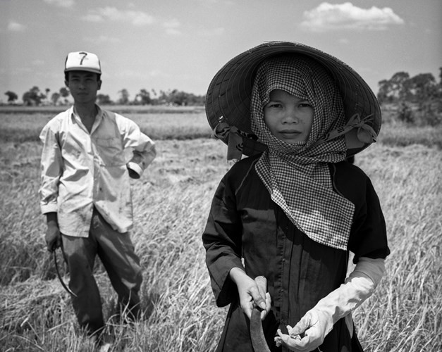 Chân dung người nông dân Củ Chi, 1994.