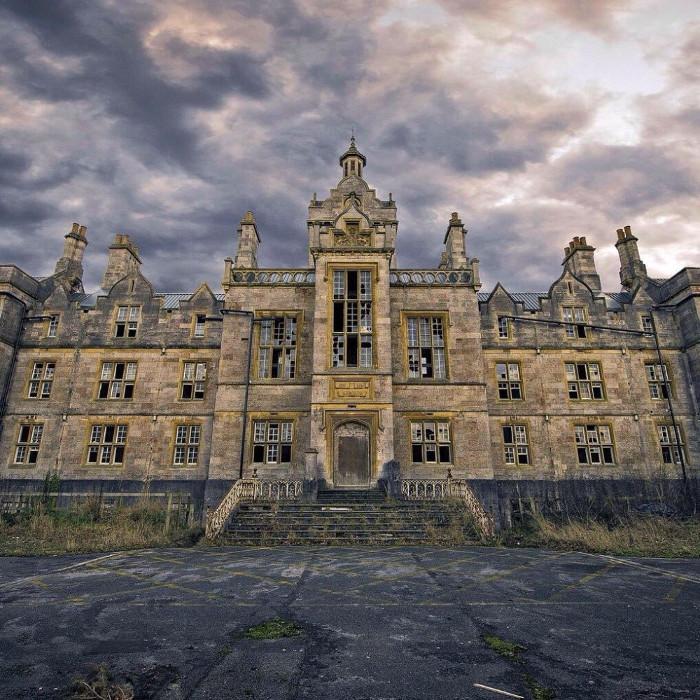 Bệnh viện North Wales bị bỏ hoang.