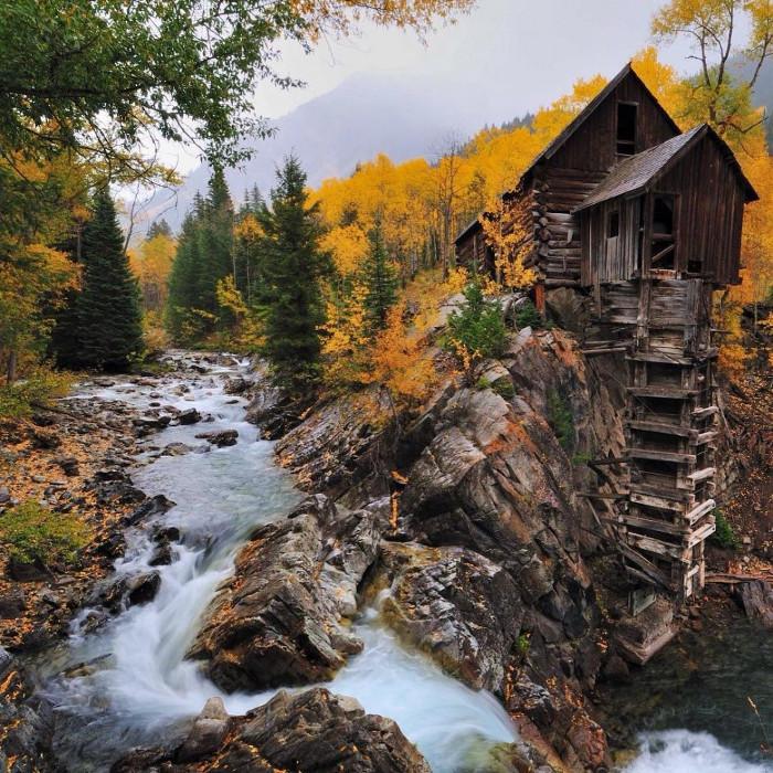 Crystal Mill tại tiểu bang Colorado, Mỹ.