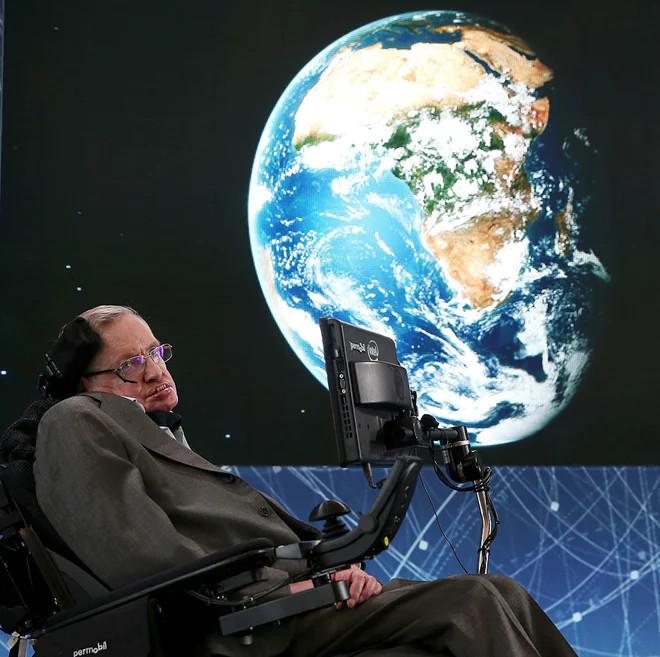 Nhà vật lý Stephen Hawking.