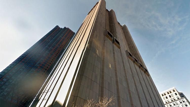 Tòa nhà AT&T Long Lines Building trên bản đồ Google Map.