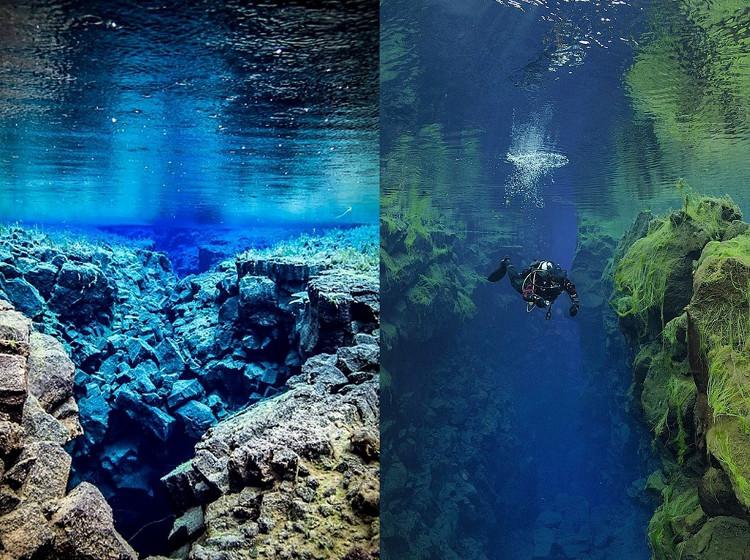 Công viên quốc gia Thingvellir đã được UNESCO công nhận là di sản thế giới