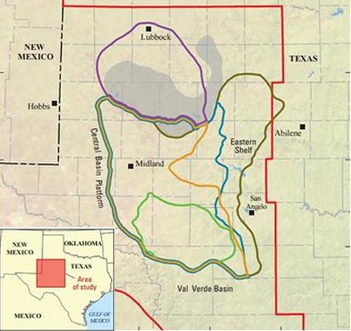 Mỏ dầu mới được phát hiện ở khu vực Midland Basin Wolfcamp, bang Texas.