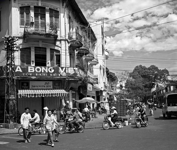 Giao lộ Hàm Nghi - Hồ Tùng Mậu, Sài Gòn năm 1996.