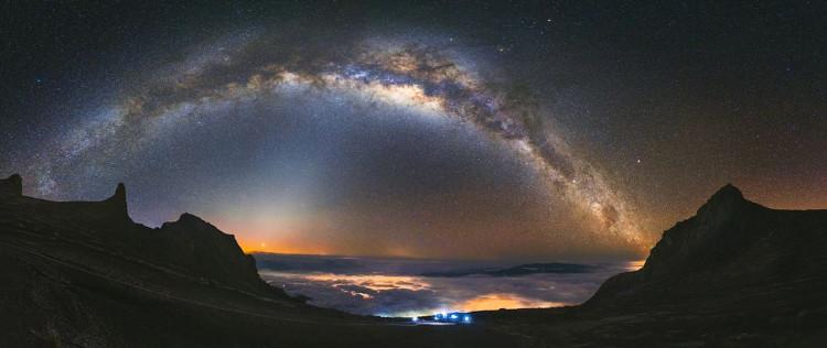 """Việc chụp ảnh bầu trời đêm từ độ cao cách mặt nước biển 4.000m là một thách thức, nhưng cũng là một trải nghiệm vô cùng thú vị"""""""