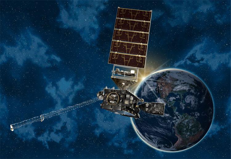 Vệ tinh này mang theo thiết bị chụp ảnh tiên tiến, quan sát Trái đất trong 16 dải bước sóng.
