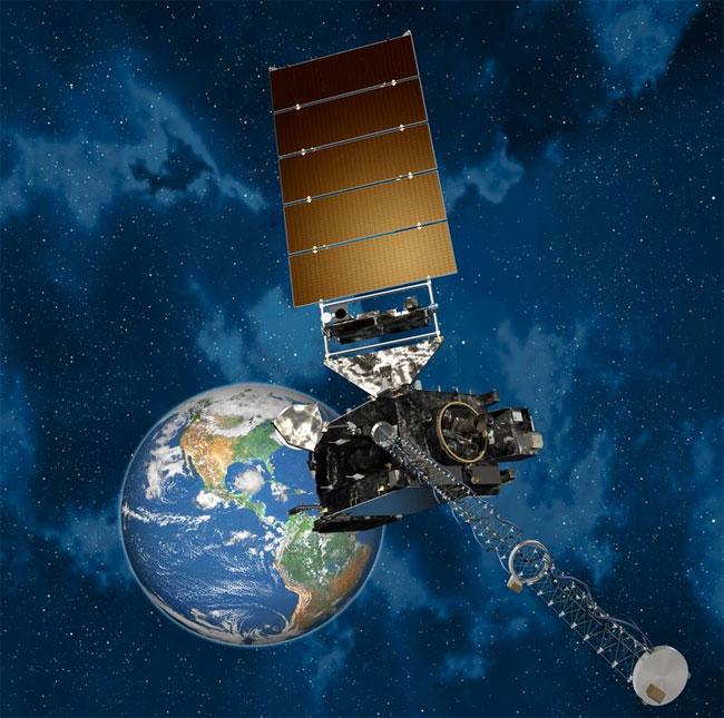 Hình ảnh đồ họa của GOES-R.