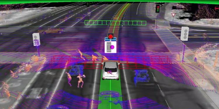 Để đào tạo một chiếc xe tự lái, đầu tiên bạn sẽ lái xe hàng trăm xe dặm để thu thập dữ liệu cho cảm biến.