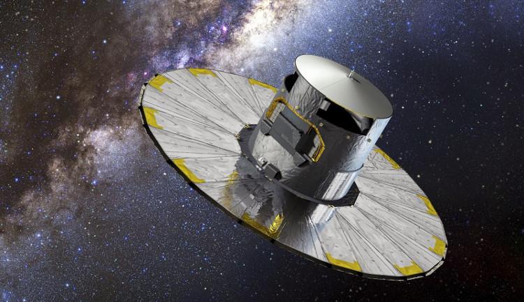 Tàu Gaia đang ghi nhận dữ liệu để tạo ra bản đồ 3D thiên hà Milky Way trong tương lai.