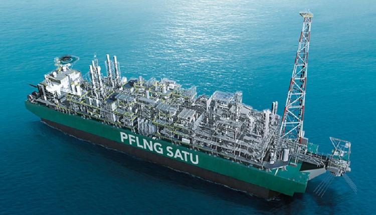 Tàu sản xuất khí tự nhiên hóa lỏng PFLNG SATU.