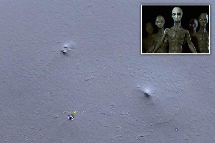 Phát hiện căn cứ người ngoài hành tinh tại Nam Cực?