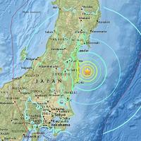 Động đất 7,3 độ Richter gây sóng thần nhỏ ở Nhật Bản