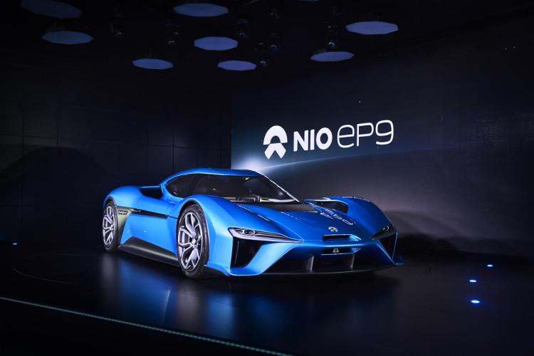 Siêu xe chạy điện NIO EP9.