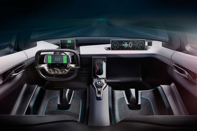 NextEV chỉ sản xuất 6 chiếc EP9 và giá bán cho mỗi chiếc xe này là 1,2 triệu USD.