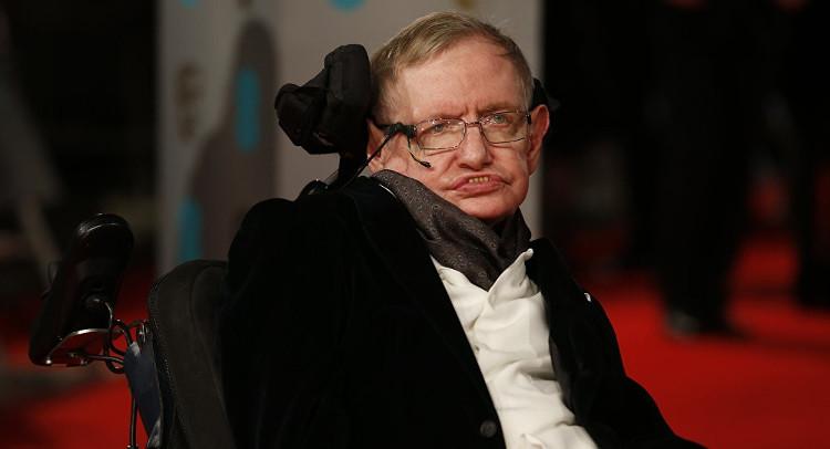 Nhà Vật lý học Stephen Hawking.