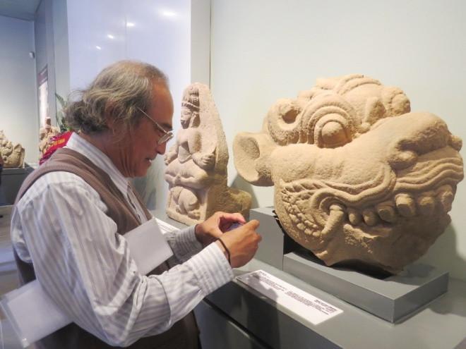 Hình tượng đầu sư tử có niên đại thế kỷ 10.