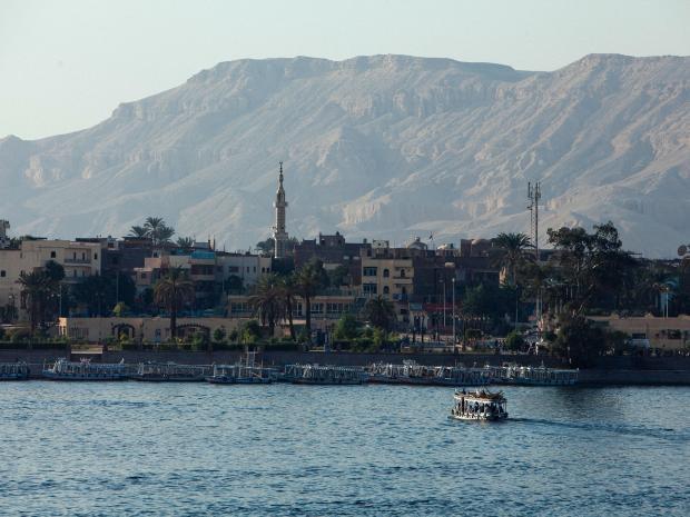 Thành phố cổ được phát hiện gần Luxor - điểm du lich nổ tiếng ở Ai Cập.