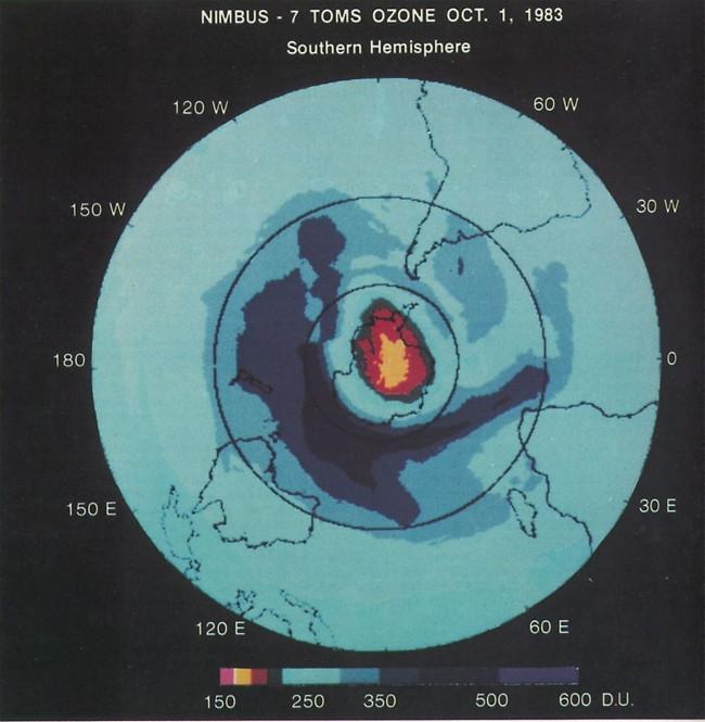 Lỗ hổng tầng ozone đang hồi phục dần