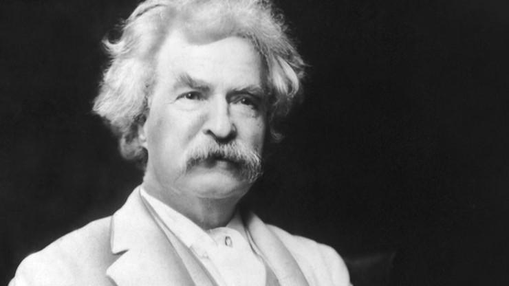 Nhà văn nổi tiếng người Mỹ Mark Twain