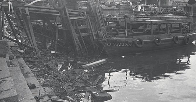 Có thể khó tin nhưng đây là một hình ảnh phổ biến ở Singapore khoảng nửa thế kỷ trước.