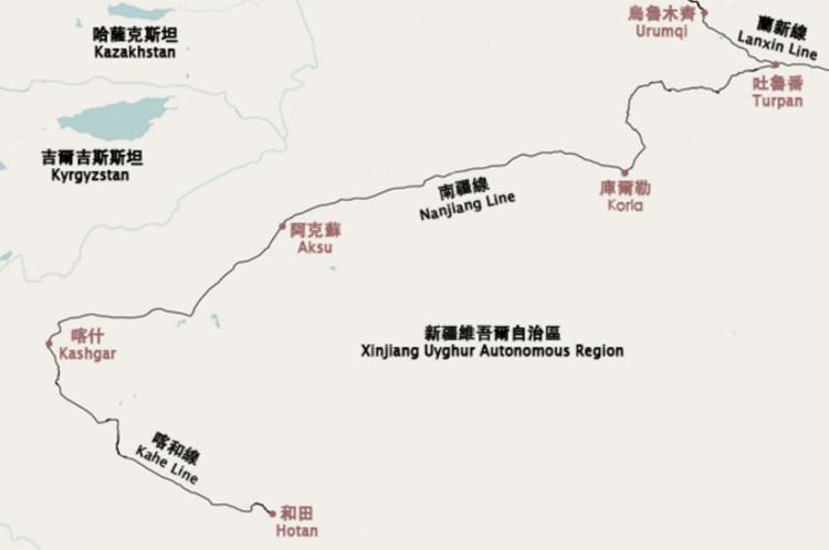 Đường sắt Kashgar-Hotan