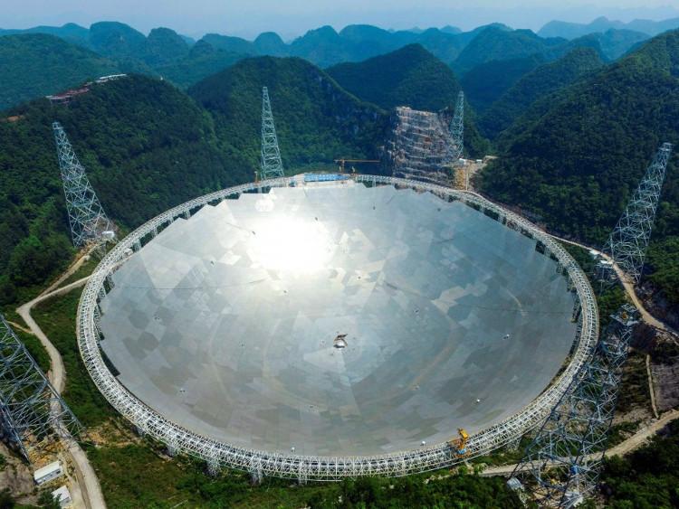 Kính thiên văn Pingtang hiện là kính viễn vọng vô tuyến lớn thứ hai trên thế giới.
